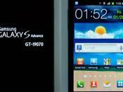 Samsung presenta nuovo Galaxy Advance: design, Dual Core Flash
