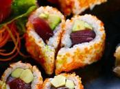 cena Valentino sushi finger-food dalla forma speciale
