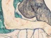 """Egon Schiele """"Donna seduta ginocchio sollevato"""""""