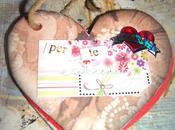 Scrapbooking: tutorial portachiavi valentino