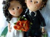 Caketoppers: Sposi Torta Matrimonio