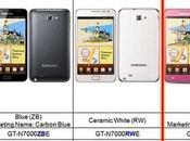 Nuovo colore Samsung Galaxy Note