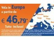 WindJet: 8.300 biglietti l'Europa 46,79€ tutto incluso