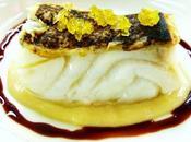 Baccalà,fagiolo risina,limone candito riduzione sagrantino