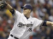 Baseball, Mlb: scoop serata italiana Milwaukee. Primo luglio maglie Brewers scritta Birrai