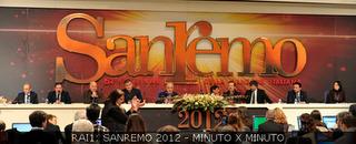 Conferenza stampa Festival Sanremo febbraio 2012. diretta