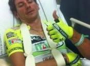 Pozzato leone: Trofeo Laigueglia 2012 clavicola