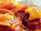 Torta alle mandorle arance