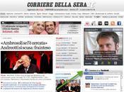 """Corriere.it punta forte sulla potenza della """"raccomandazione"""" Facebook"""