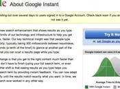 Google Instant, arriva ricerca istantanea
