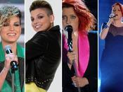Tagli capelli look sanremo 2012 abiti delle finaliste noemi emma marrone vincitrice arisa nina zilli