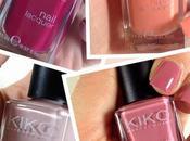 Kiko Nail Lacquer Nuovi Colori Primavera/estate! 363; 359; 375;