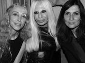 Tutti cena Donatella Versace alla #mfw 2012