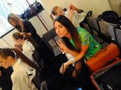 Krizia backstage l'oreal