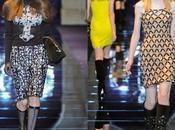 Terza giornata settimana moda Milano Versace ritorno alle origini