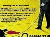 Enrico Mattei fondatore dell'ENI Sabato Marzo Bologna