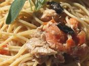 Spaghetti integrali tonno olive nere