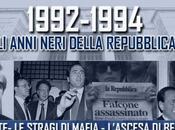 Anni neri della Repubblica: sotto inchiesta milanese, dimissioni Cossiga, strage Capaci