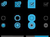 Disponibili stencil design delle interfacce Android
