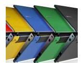 Dell Latitude 2100, primo Netbook protezione gomma contro urti.