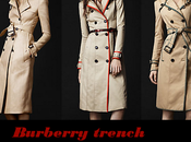 Burberry trench primavera estate 2012