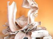 Textures materiche bellissimi effetti superfici nelle opere porcellana eleonora ghilardi
