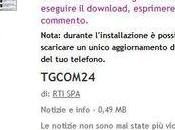 L'applicazione TGCOM24 Nokia Belle