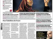 Roberto Saviano prima pagina Monde