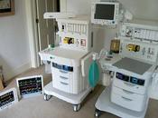 Macchina l'anestesia riprodotta mattoncino
