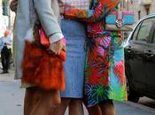 Street style random pics milan woman fashion week
