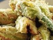 Fiori zucca fritti ripieni