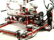 stampante fatta Lego