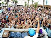 aprile 2012 Avicii inaugura pool party season Vegas, Marquee