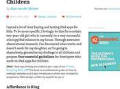 Progettare baby utenti iPad