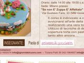 Corso base cake decorating