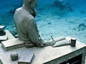 sculture sottomarine Cancun