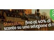 Hotels: Stoccolma fino -40% coupon sugli hotel