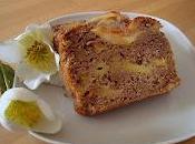 Plum-cake nutella mele