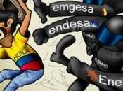 Proteste contro ENEL Colombia
