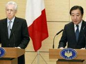 Monti Giappone: fiducia cittadini, partiti Bufera Roma, critiche Bersani