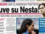 Ecco prime Corriere dello sport, Gazzetta Tuttosport